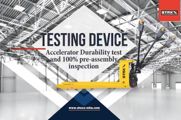 ACCELERATOR DURBILITY TEST AND 100% PER-ASSEMBLY INSPECTION