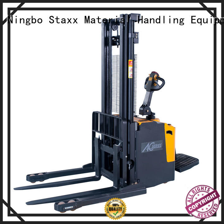 Staxx cbes121520 electric stacker forklift for business for rent