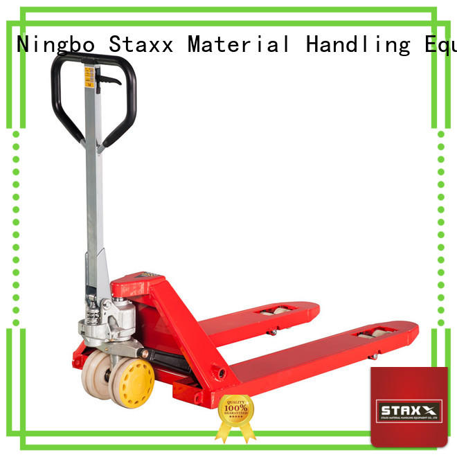 Staxx lift automated pallet jack company for warehouse