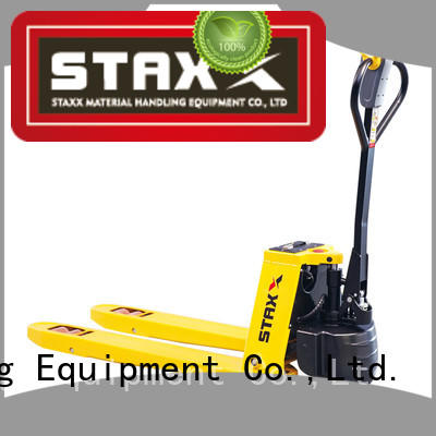 Top pallet jack handle powered Supply for stairs