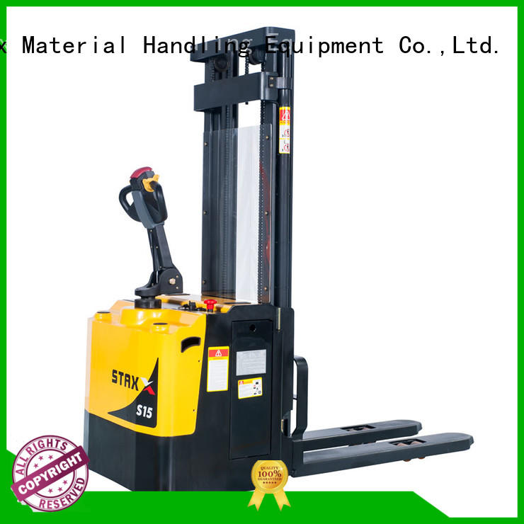 Staxx straddle manual fork truck Suppliers for rent