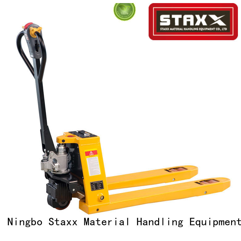 Staxx High-quality pallet stacker truck manufacturers for warehouse