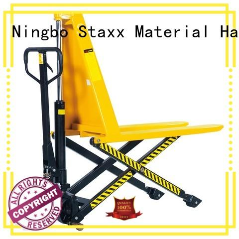 Staxx heavy used electric pallet truck for business for warehouse