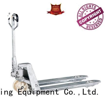 Best folding pallet truck trucks factory for rent