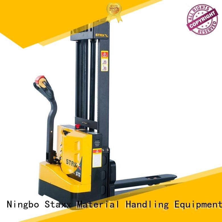 Staxx Latest narrow pallet jack manufacturers for warehouse