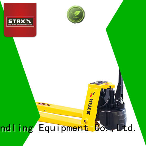 Staxx New pallet truck charger factory for warehouse