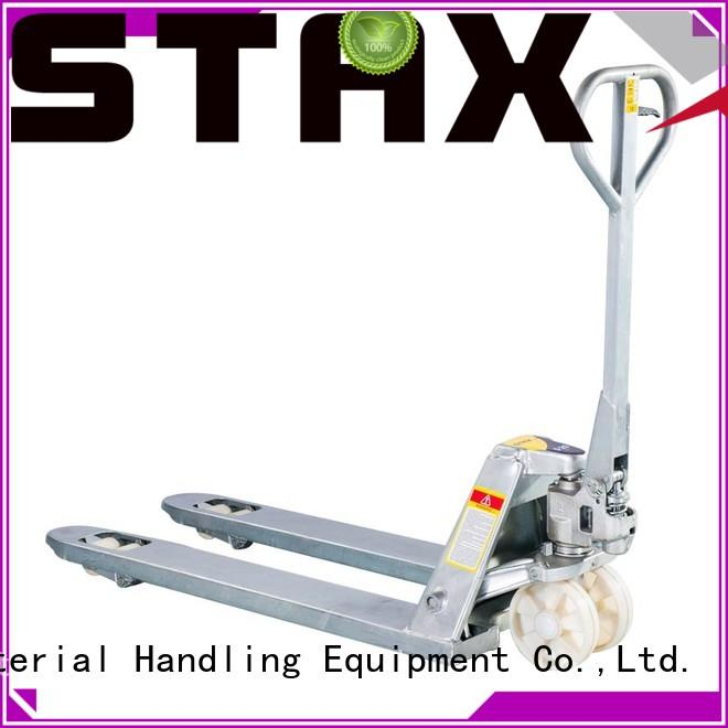 Staxx High-quality pallet jack machine manufacturers for warehouse