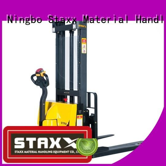 Staxx price power lift truck factory for hire