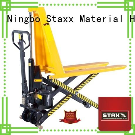 Custom stainless steel pallet jack standard factory for stairs