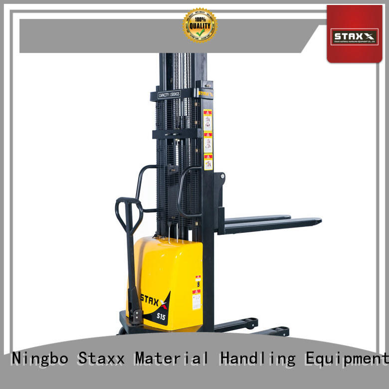 Staxx Custom walkie lift truck manufacturers for hire