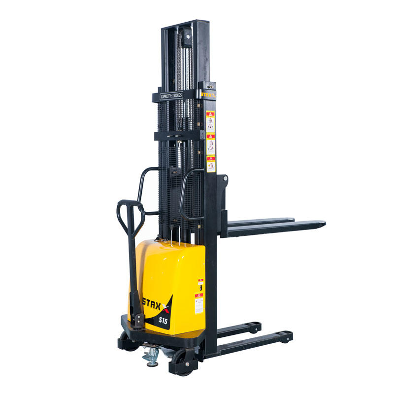 Semi-electric fork over Stacker Forklift Warehouse DYC10/15/20