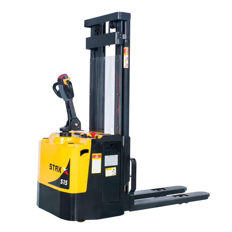 Custom Electric Fork over Stacker Forklift Heavy Duty ES12/15/20