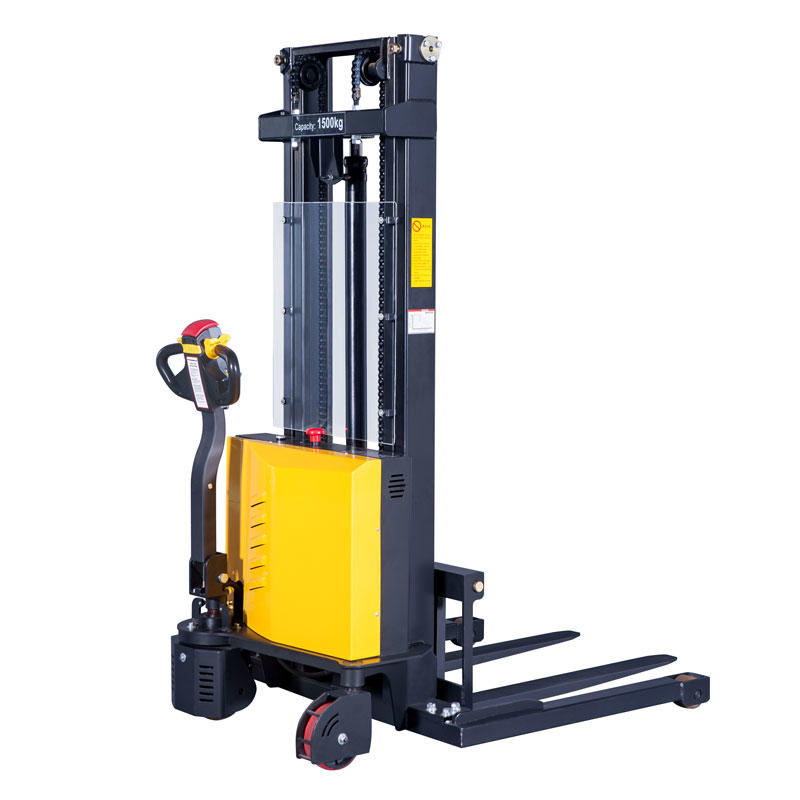 Electric Straddle Leg Stacker Forklift PWS10SS/15SS-i