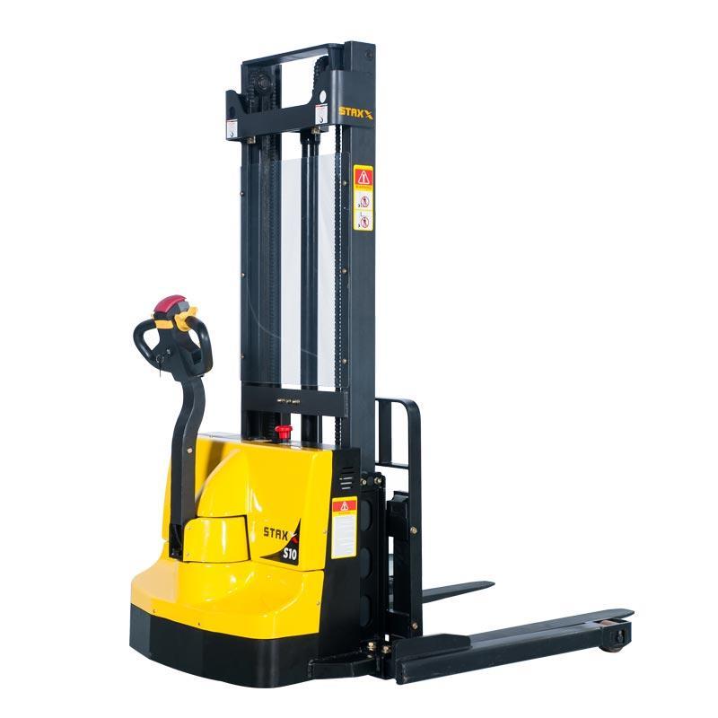 电动架子腿堆垛机低价格WS10SS / 12SS / 15SSL供应商