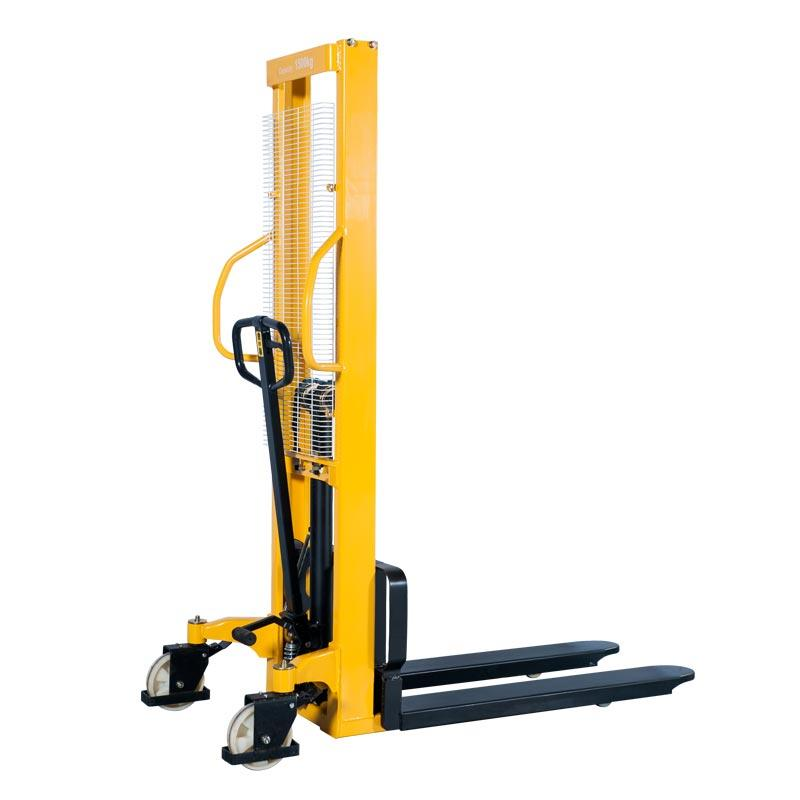 Manual Forklift Pallet Stacker Manual Fork over Stacker 500 Kg