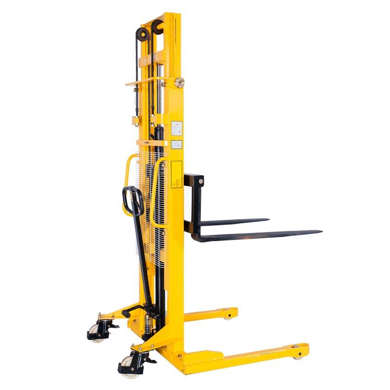 Manual Hydraulic Pallet Stacker Wms-a Series 10000 Kg Manufacturer