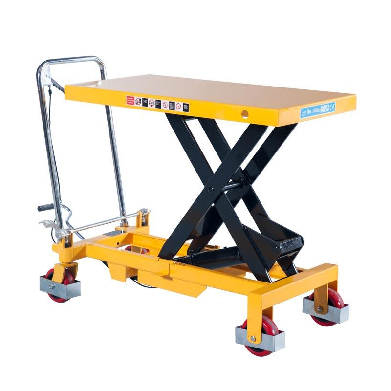 Manual Lift Tables PT Series 150-1000 kg