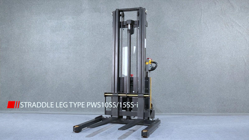 Intelligent light duty electric stacker PWS-i