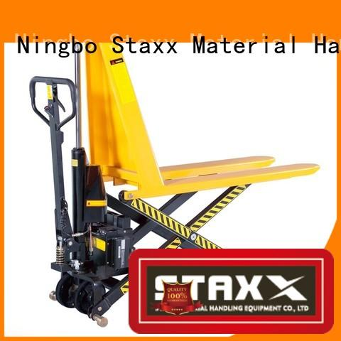 Staxx Latest folding pallet jack company for rent