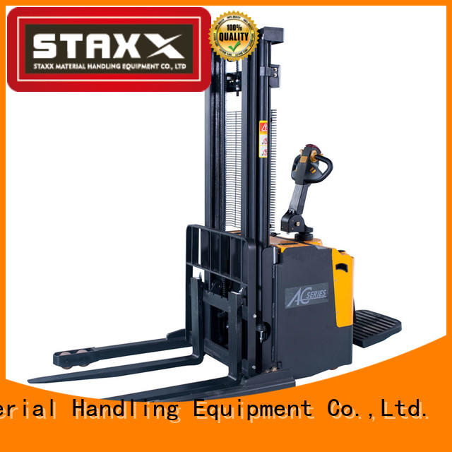 Staxx cbes500750 ride on pallet truck Suppliers for warehouse