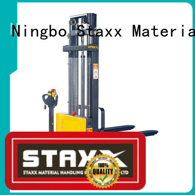 Latest pallet stacker truck products factory for warehouse