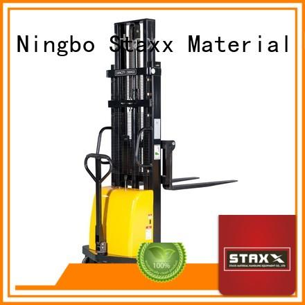 Staxx Top mobile pallet stacker factory for stairs