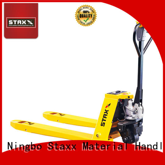 Staxx New walk behind electric pallet jack company for hire