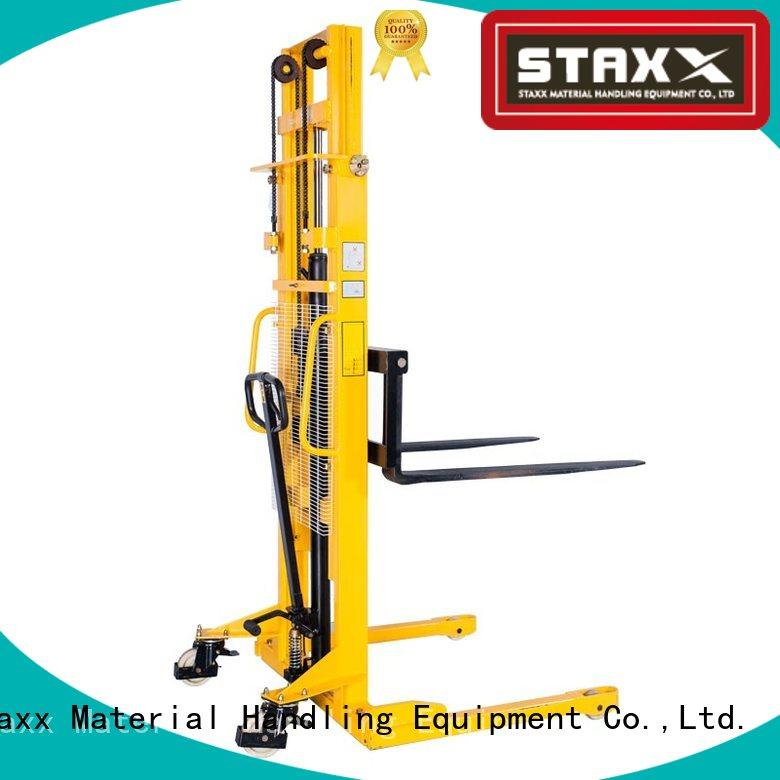 Staxx Latest semi electric stacker price in india for business for rent