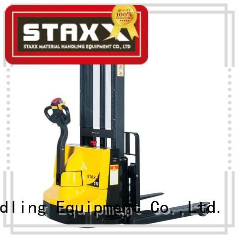 Top walk behind pallet stacker electric Suppliers for stairs
