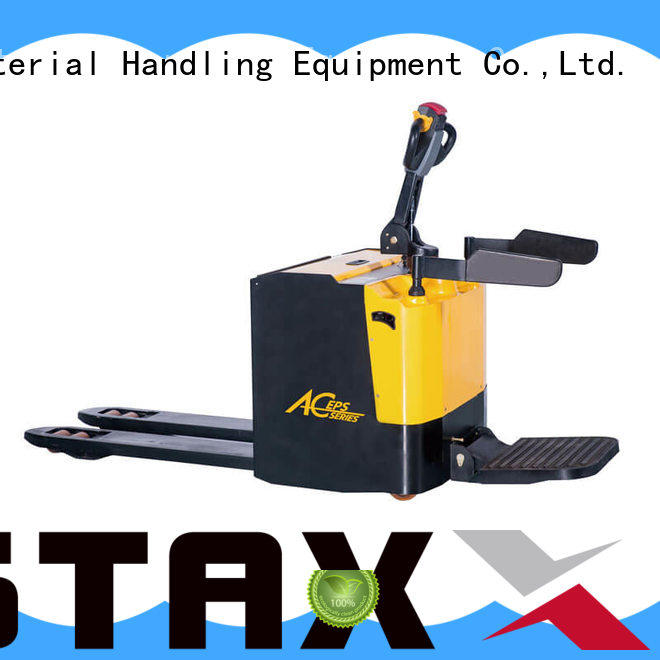 Staxx Best electric pump truck Supply for warehouse