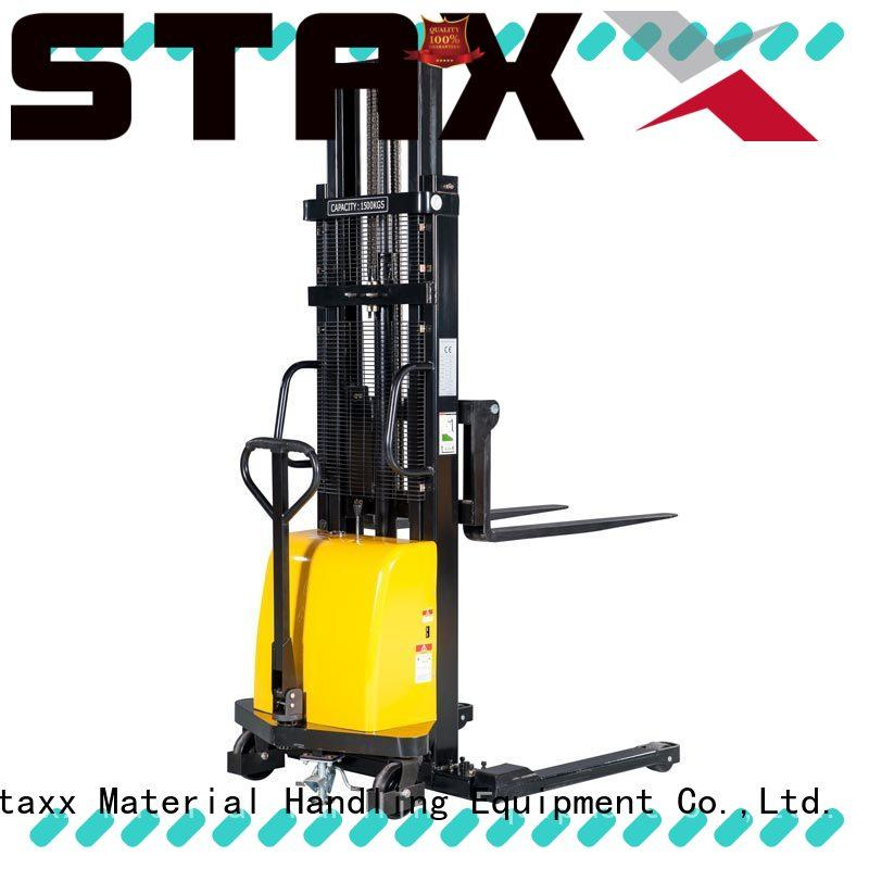 New mahaffy power stacker over Supply for stairs