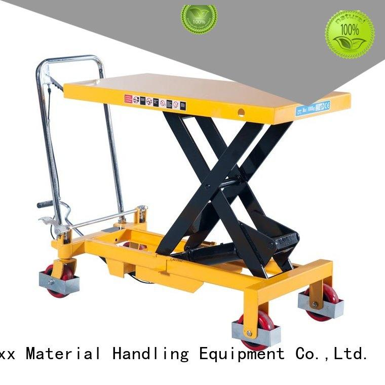 New used hydraulic lift table platform manufacturers for rent