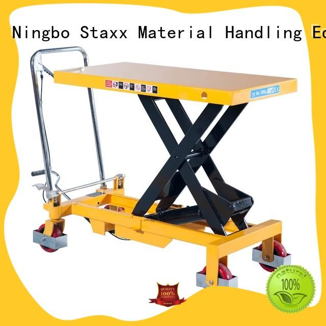 Staxx series motorized lift cart Suppliers for warehouse
