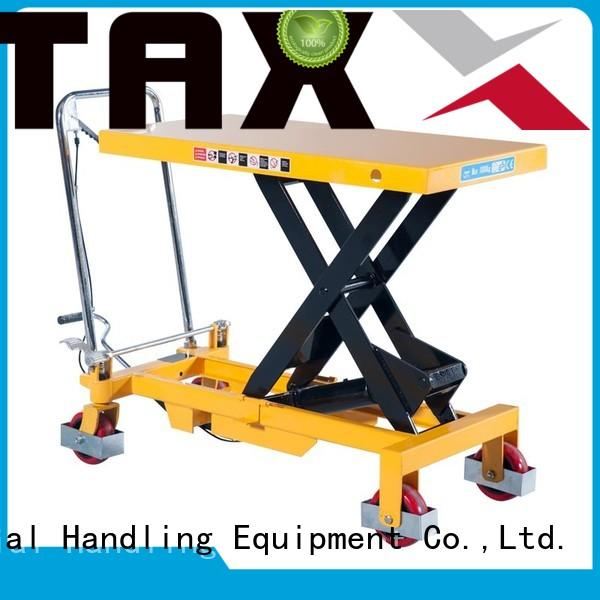 Staxx Best used hydraulic lift Supply for warehouse