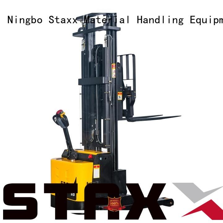 Latest used manual pallet stacker pantograph Supply for rent
