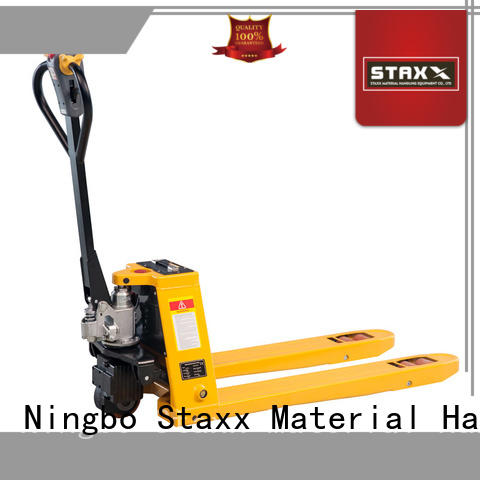 New pallet stacker truck electric Supply for warehouse