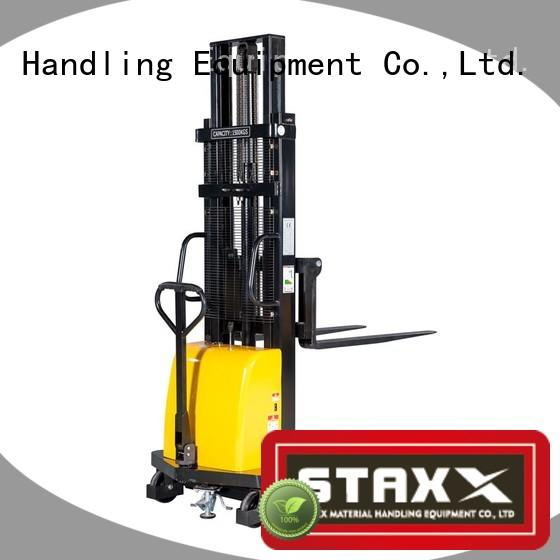 Staxx straddle manual forklift stacker manufacturers for warehouse