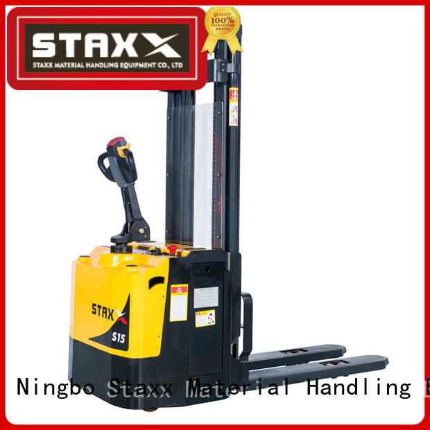 High-quality counterbalance electric stacker leg Supply for rent