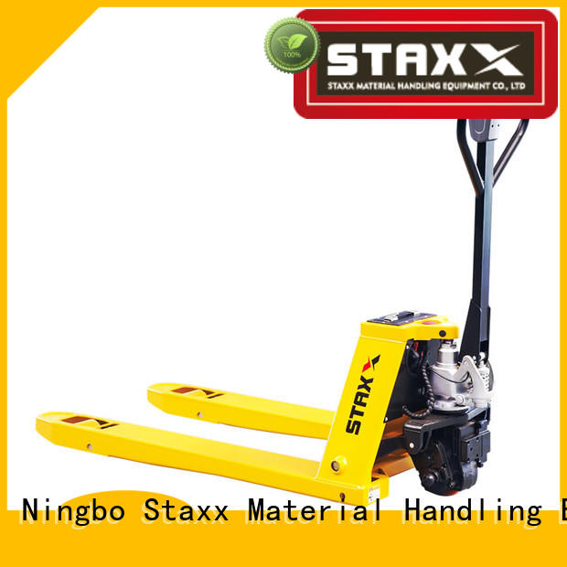 Staxx Top scissor pallet truck Supply for hire