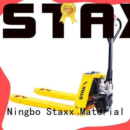 Staxx powered pallet jack trailer for business for rent