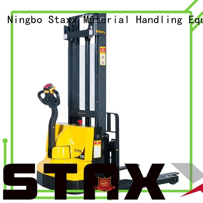 Staxx Wholesale buy electric stacker company for warehouse