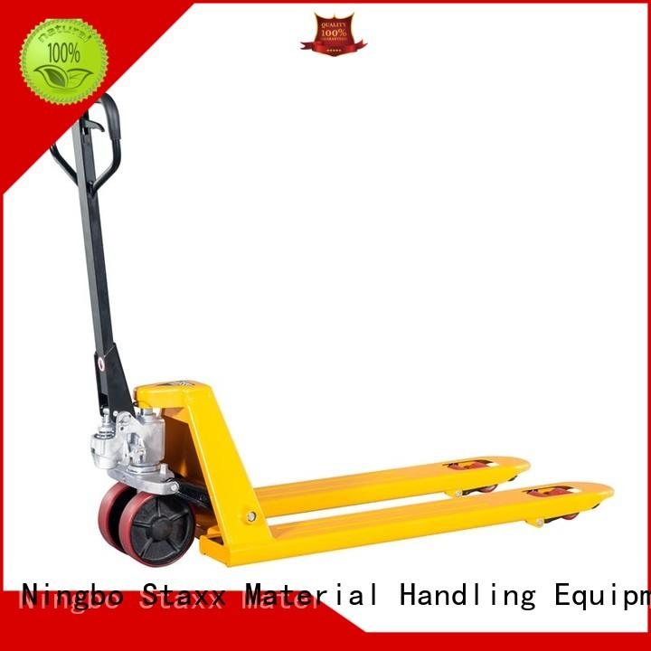 Staxx Top pallet jack cost for business for hire