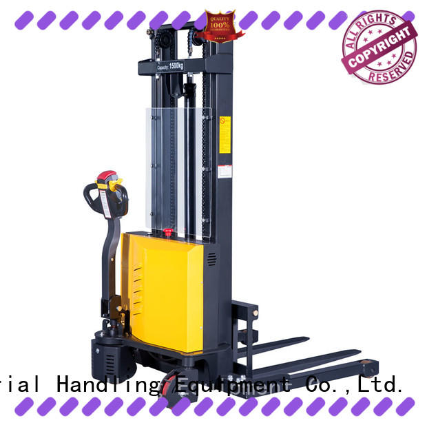 Latest manual stacker pallet truck fully for business for stairs