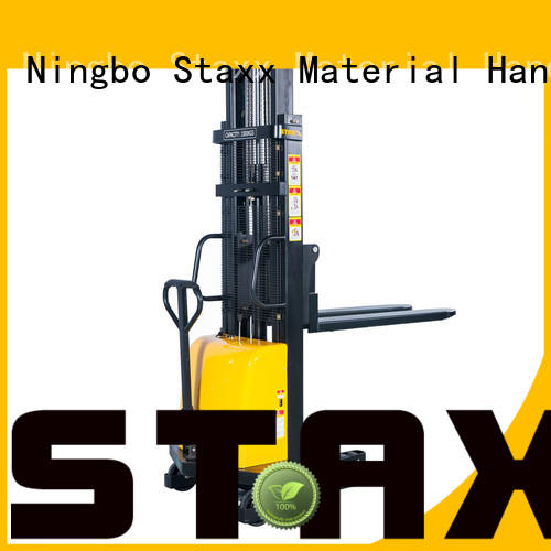 High-quality manual pallet stacker for sale manual factory for rent