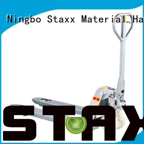Staxx stainless pallet lifters for sale factory for rent