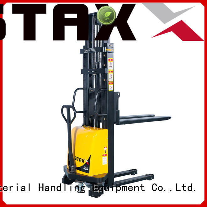 Staxx Wholesale double rider pallet jack company for rent
