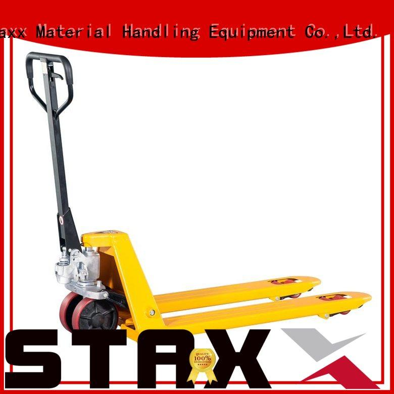 Staxx New power lift pallet jack factory for rent
