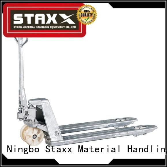 Staxx truck pallet mover price factory for hire