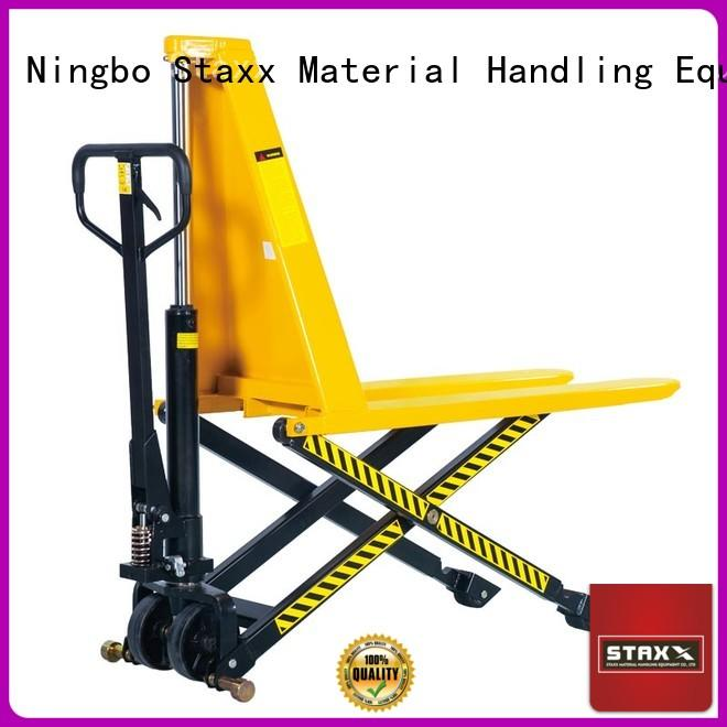 Staxx manual hydraulic hand pallet truck forklift Supply for stairs