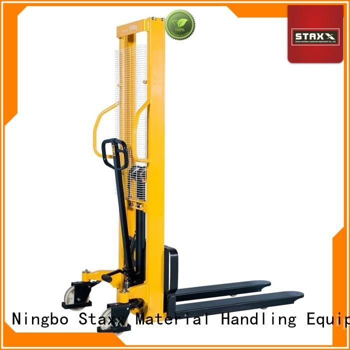 Staxx wmsa used manual pallet stacker manufacturers for rent